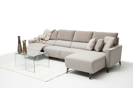 Aviva2 pomysł przykład aranżacji nowoczesnego salonu z narożnikiem