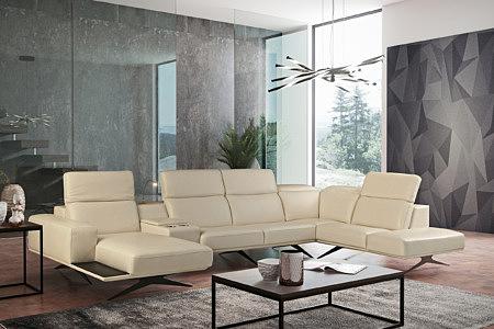 Giotto kremowa elegancja sofa narożnik w nowoczesnym salonie pomysł inspiracja aranżacja