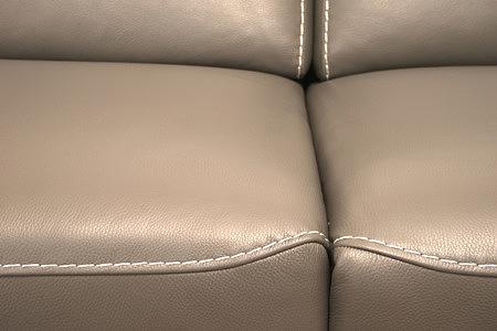 Infinity detal wykonania wygodnego siedziska sofy