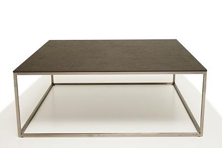 LB4 ława metalowa industrialna z blatem ze spieku stolik