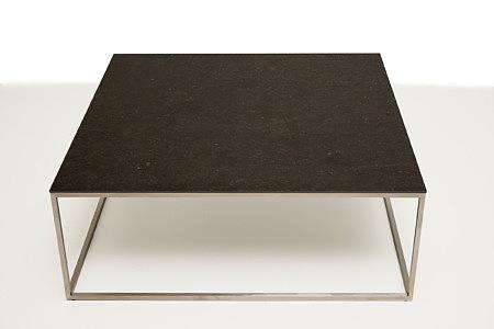 LB4 stolik kawowy metalowy włoski spiek kwarcowy