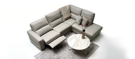 Livio szara elegancka sofa do salonu nowoczesna aranżacja inspiracja
