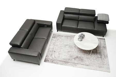 Longo sofy skórzane zarazem stylowe eleganckie i klasyczne