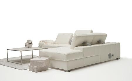 Onex aranżacja eleganckiego stylowego narożnika w białym kolorze