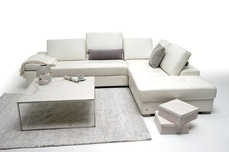 Onex pomysł na urządzenie nowoczesnego salonu z białym narożnikiem