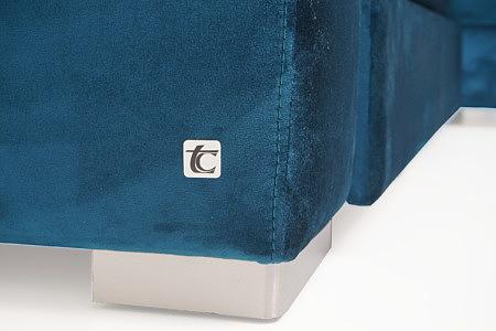 Onex sofa z logotypem TC Meble Dobrodzień Tomasz Cembolista