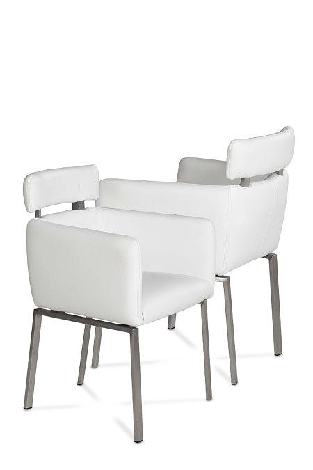 Sabine nowoczesne krzesła do salonu w stylu modern industrial