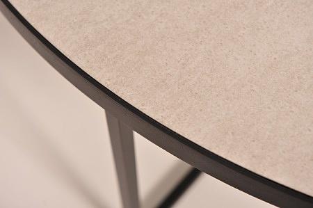 Stolik kawowy do salonu nowoczesny czarny kolor szary blat spiek meble z Dobrodzienia
