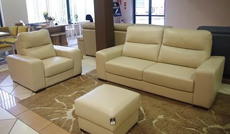 sofa + fotel z ekspozycji