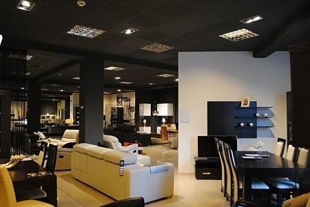 Zdjęcie wnętrza salonu meblowego TC we Wrocławiu