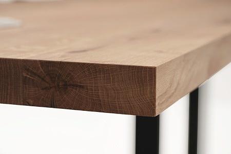 Blat ze stołu drewniany z sękami2