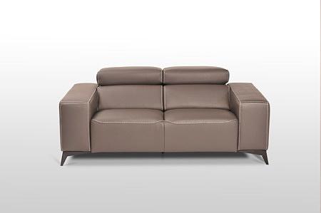 Designerska sofa ze skóry naturalnej w kolorze brązowym, przepiękne wykonanie, najlepsze wzornictwo, klasa premium