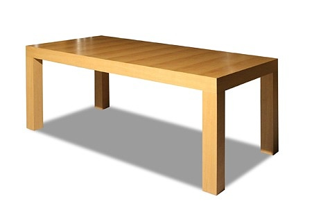 Duży stół fornirowany jasny