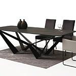 Duży stół z polerowanego spieku z metalowymi nogami02