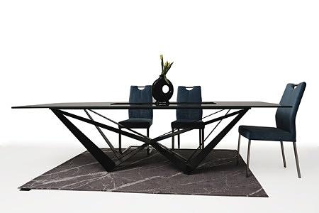 Duży stół z polerowanego spieku z metalowymi nogami04