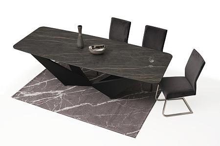 ładne i wygodne tapicerowane krzesło z metalowymi płozami