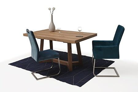 Masywny drewniany stół rozciągany01