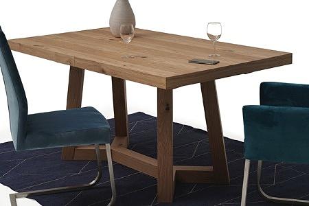 Masywny drewniany stół rozciągany03