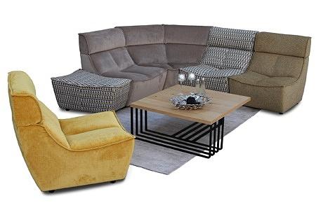 Viva - modułowy nowoczesny wypoczynek, meble modułowe idealne do salonu i pokoju dziennego