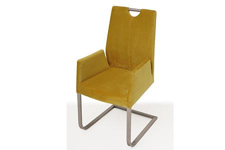 Nowoczesne krzesło tapicerowane