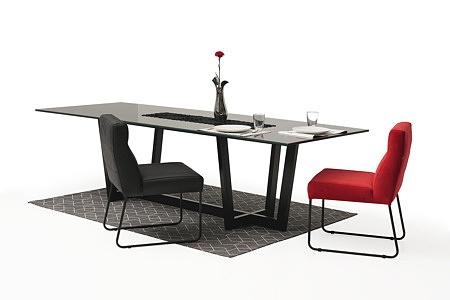 Nowoczesne wygodne krzesło tapicerowane