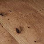 Nowoczesny rozkładany stół z blatem w dębie sękatym szczotkowanym 9