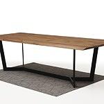 Nowoczesny stół z drewnianym blatem1