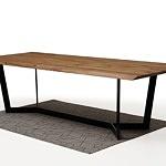 Nowoczesny stół z drewnianym blatem3