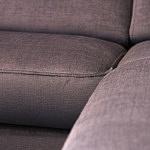 Sofa w materiale i skóże narożnikwygodna zgrabna 17