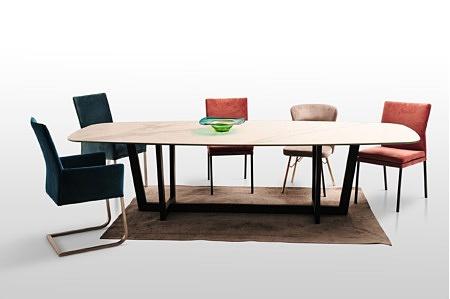 Stół largo metalowa podstawa nogi czarny loft styl industrialny duży nierozkładany proszkowo lakierowana