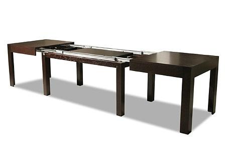 stół rozciągany fornirowany