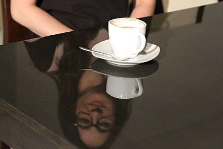 stół wysoki połysk
