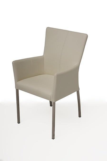 tapicerowane krzesło z metalowymi nogami z podłokietnikami 01
