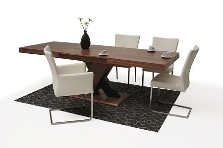 tapicerowane krzesło z metalowymi płozami 03