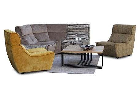 Viva - wygodne i nowoczesne wypoczynki tapicerowane tkaniną