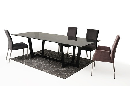 Wygodne krzesło tapicerowane na metalowych nogach06