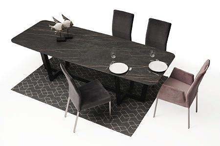 Wygodne krzesło tapicerowane na metalowych nogach07