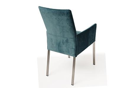 Wygodne tapicerowane krzesło