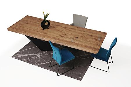 wygodne tapicerowane krzesło z metalowymi płozami, ładne