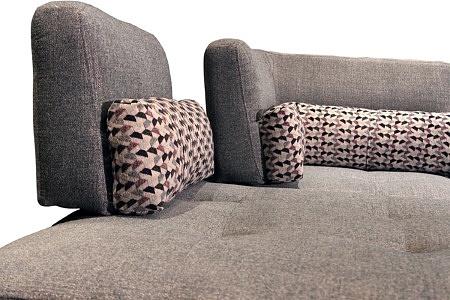 Elegancka ładna kanapa