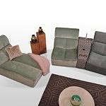 Kanapa segmentowa z osobnych elementów duży wybór kolorów i tkanin