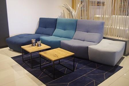 Miłe kolory sofy