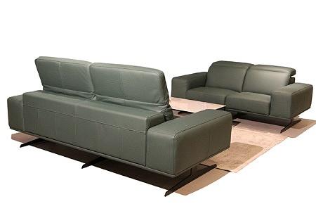 nowoczesna sofa ze skóry