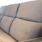 Drift - detal wykonania oparcia w nowoczesnej sofie, wygodne poduszki na oparciu zapewniają maksymalną wygodę wypoczynku