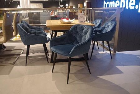 Krzesła do salonu ładne i wygodne