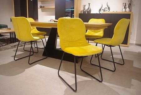 Krzesło żółte