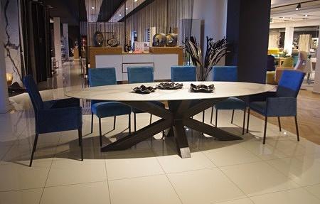 Stół bazalt blat spiek