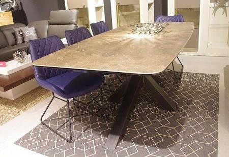 stół bazalt spiek kwarcowy