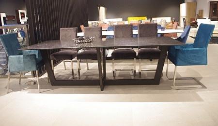 stół nowoczesny z blatem ze spieku