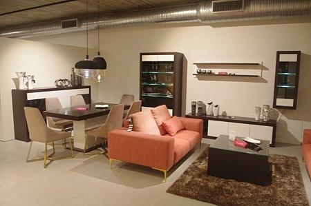 ładne meble do salonu drewniane lakier biały